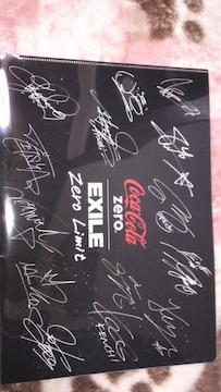 コカコーラ・ゼロ「クリアファイル」ポスター入り(送料無料)