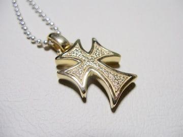 仁尾彫金『ゴールドギャラクシークロスヘッド』ハンドメイド