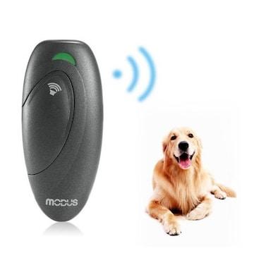 愛犬しつけ 犬の訓練用 超音波式 無駄吠え (S, グレー)