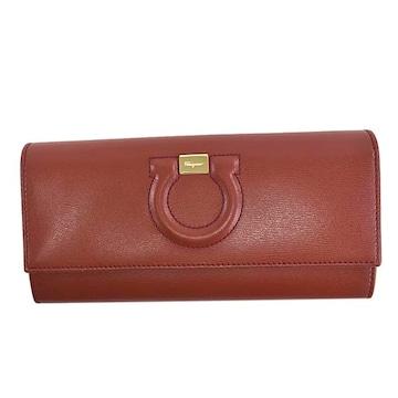 ◆新品本物◆サルヴァトーレフェラガモ 長財布(RED)『22C827 724148』◆