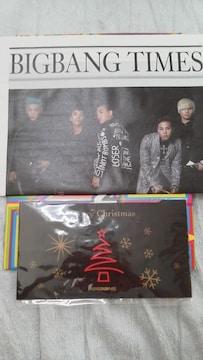 貴重未使用美品BIGBANG 公式会報 No.4(フォトクリスマスカード付)必見