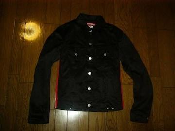 美中古JUNYAWATANABE×Levi'sラインデニム型ジャケット黒SS