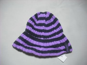 wb362 女 BILLABONG ビラボン ニット帽 ビーニー ボーダー