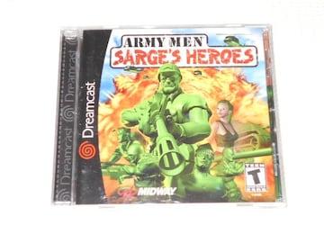 DC★ARMY MEN SARGE'S HEROS 海外版(国内本体動作不可)