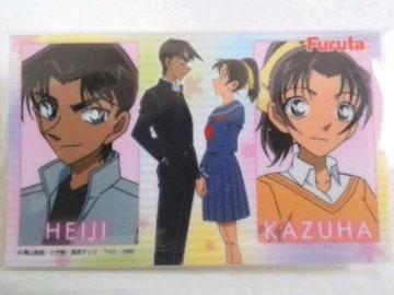 名探偵コナン〜『HEIJI & KAZUHA』のシール