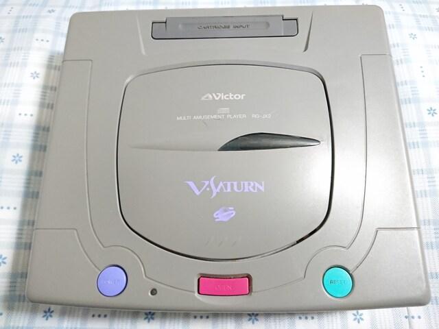 Victor製Vサターン < ゲーム本体/ソフトの
