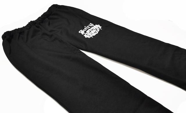 新品[6225]XXXL(大きいサイズ)黒クラウンロゴパーカー&パンツ < 女性ファッションの