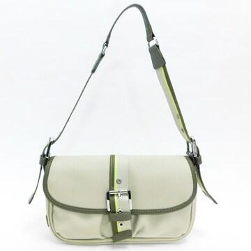 美品Longchampロンシャン ショルダーバッグ ストライプ良品 正規