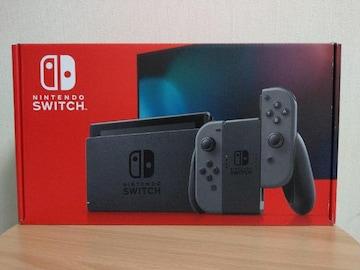 新品 送料込み Nintendo Switch 本体 任天堂 スイッチ グレー