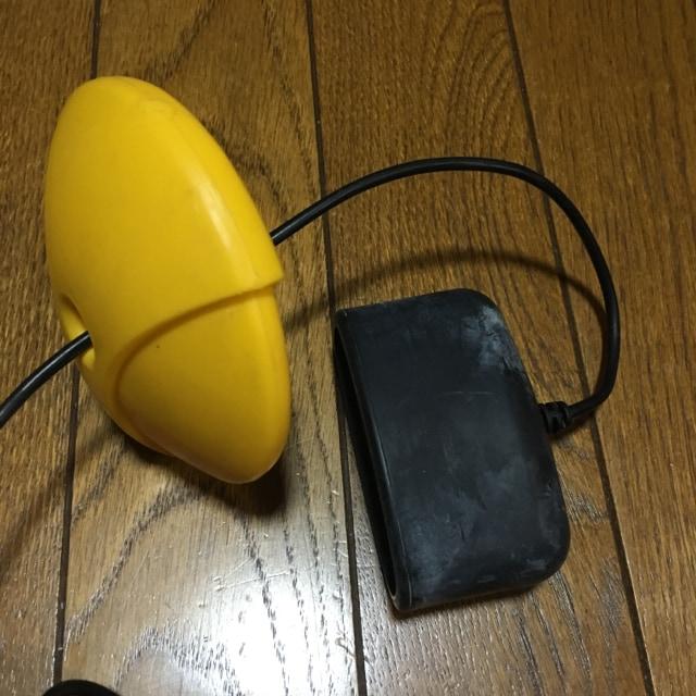 年代物 ポケット魚探 魚群探知機 乾電池式 美品 < レジャー/スポーツの