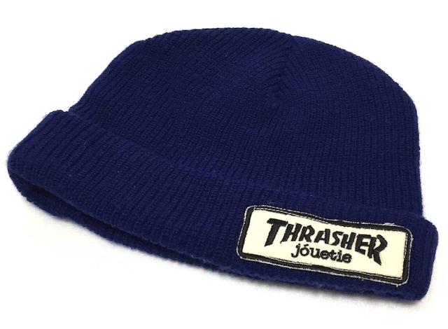 thrasher×jouetie ジュエティー コラボニット帽  < ブランドの