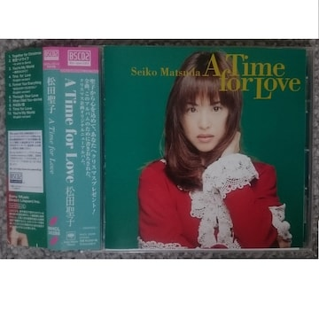 KF  松田聖子  A Time for Love Blu-spec CD2