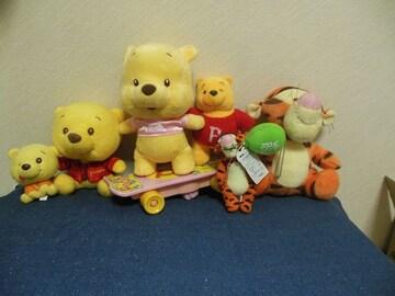 ディズニー くまのプーさん ティガー ぬいぐるみ(1) pooh