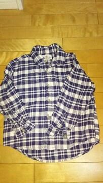 男の子130センチ★ネルシャツ