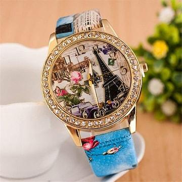 多機能アウトドア 腕時計 男女兼用 青