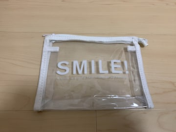 ☆ SMILEロゴ クリアポーチ☆