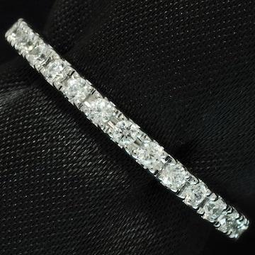 『フルエタニティ』PT900ダイヤモンドリング!