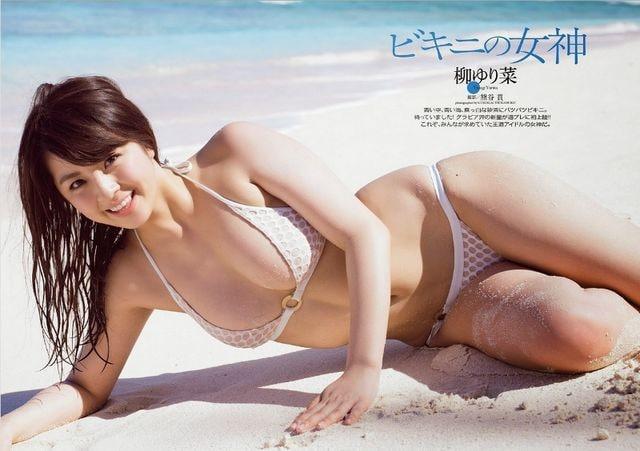 送料無料!柳ゆり菜☆ポスター3枚組4〜6  < タレントグッズの