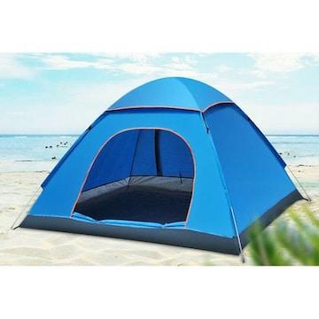 新品 テント ブルー