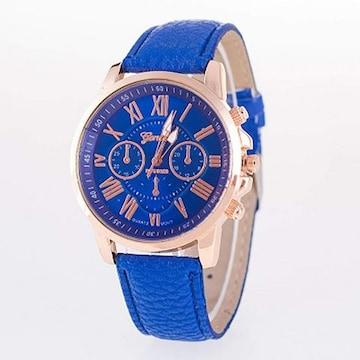 多機能アウトドア 腕時計 男女兼用 青2