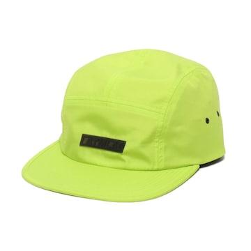 新品 アトモス ATMOS LAB キャンプ キャップ 光沢イエロー帽子