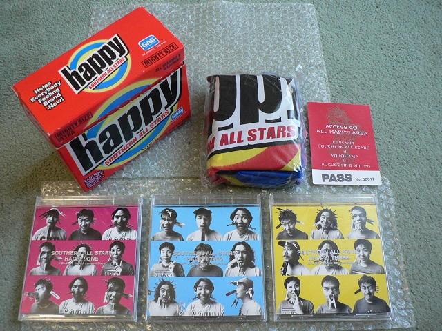 サザンオールスターズ/happy【限定盤:3CD】ベストBest/ハッピ付 < タレントグッズの