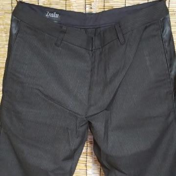Lyeden ライデン サイドライン ストライプゴルフパンツ 黒 未使用 M