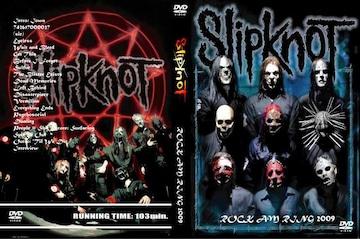 ≪送料無料≫SlipknoT ROCK AM RING 2009 GERMANYスリップノット