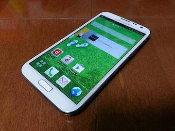 即落/即発!!新品未使用 SC-02E Galaxy Note 2 ホワイト
