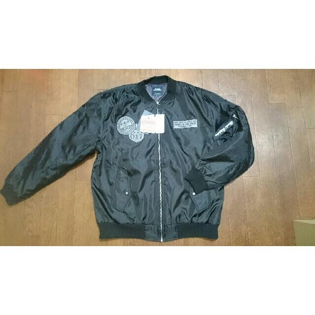 新品★ワッペン★ボンバージャケット★3L  < 男性ファッションの