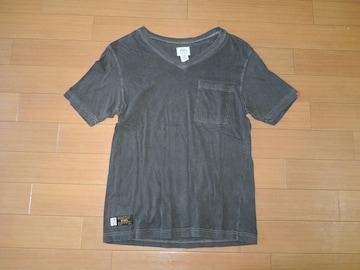 WTAPS ダブルタップス BLANK S/S V字カットソー S ポケTシャツ