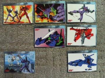 トレカ  エヴァ3 EVAシリーズカード                   7枚