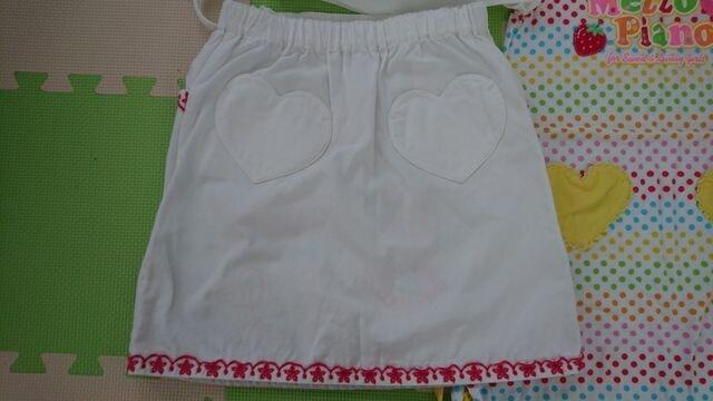 130★女の子★メゾピアノ★スカート、袖無しワンピース < ブランドの