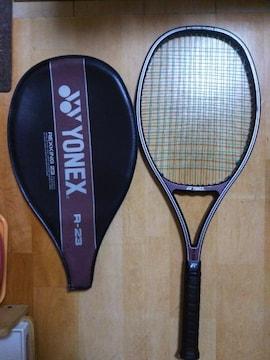 ★ヨネックス YONEX R-23 テニス ラケット & カバー 硬式  大阪なおみ