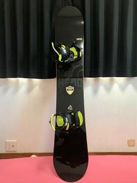 HEAD スノーボード 161ビンデング付き! 超美品☆☆☆