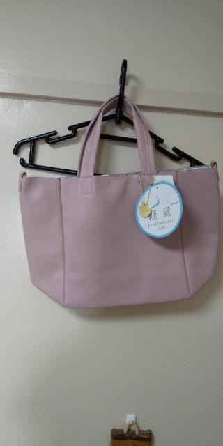 ピンク色の軽量2wayバッグ♪未使用品  < 女性ファッションの