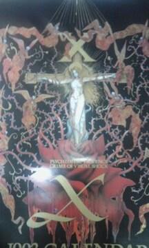 X JAPAN ポスター ロゴ hide