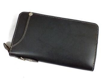 イギンボトム×サラマンダー 長財布IG-701-BK ブラック