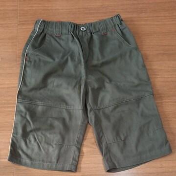 150cm深緑短パンNo.672