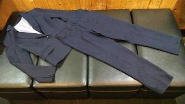 1つボタンジャケット アンクル丈パンツ (9分丈) パンツスーツ