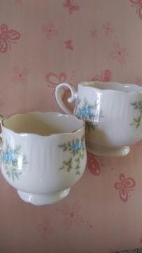 ☆可愛い☆小花☆ティーカップ☆�Aset☆