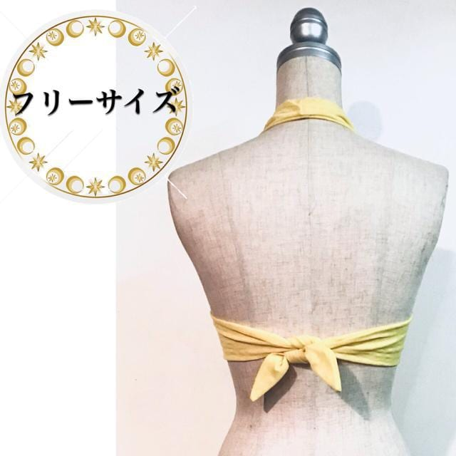 イギリス*GLAMOROUS*いちご刺繍.ホルター.ブラトップ < 女性ファッションの