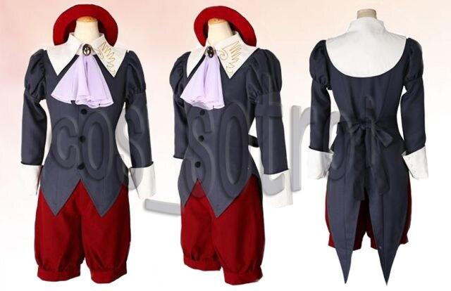 うみねこのなく頃に 使用人 嘉音◆コスプレ衣装  < 女性ファッションの
