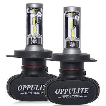 H4 LED ヘッドライトHi/Lo ファンレス車検対応 12V車 6500K