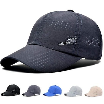 キャップ 帽子,夏 秋 メッシュ ロゴ 紺