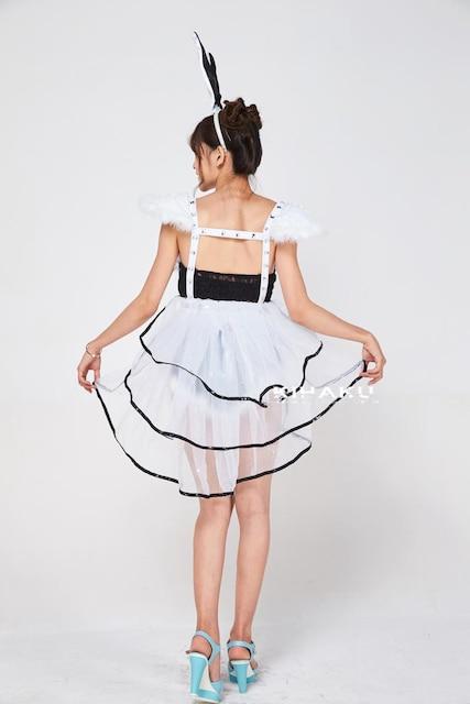 黒ライン バニーガール服 コスプレ衣装 ハロウィン < 女性ファッションの