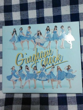 AKB48「ギンガムチェック」B TYPE(CD+DVD)