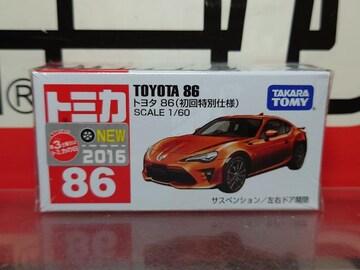 ★初回特別仕様赤箱トミカ86★トヨタ 86★未開封品★