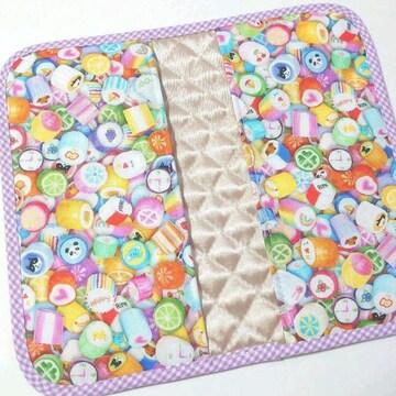 6-83 金太郎飴柄 マスクケース