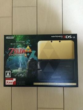 3DS-LL限定版 ゼルダの伝説 神々のトライフォース2パック 新品
